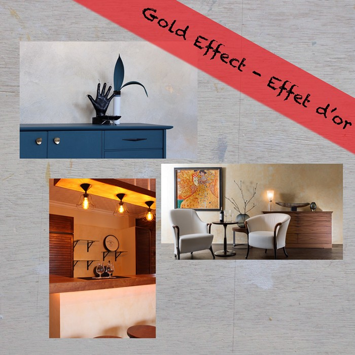 gold wall package