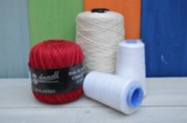 Knit and crochet yarn Annell