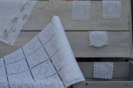 Plastic table runners