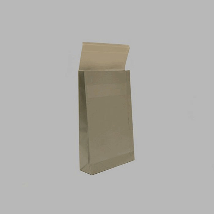 Gift paper packaging color silver 33 x 20 cm