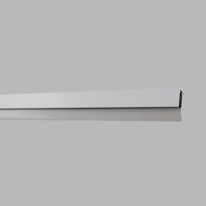Arti Teq info track color white or aluminium length 100 cm