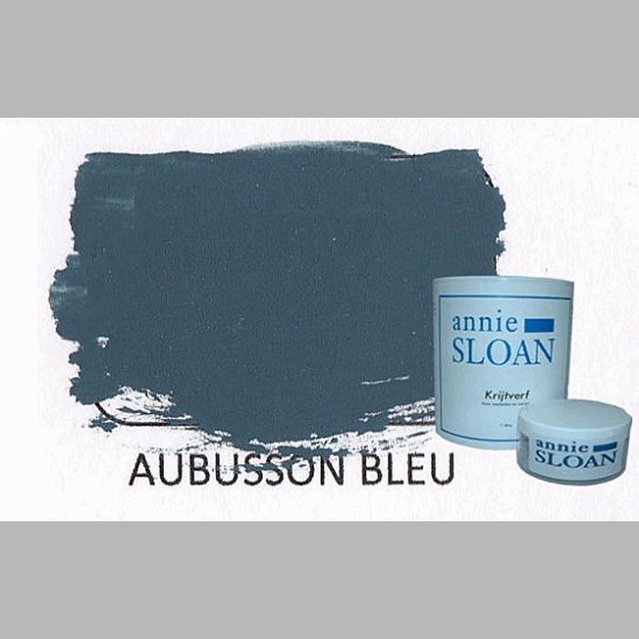 Aubusson blue | chalk paint of Annie Sloan