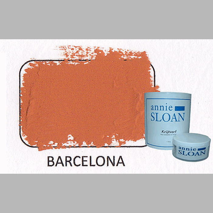 Barcelona orange | chalk paint of Annie Sloan