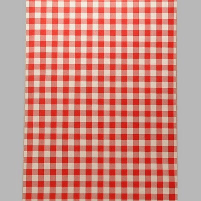 Agrandir Lu0027image Papier Peint Vichy Rouge Et Blanc