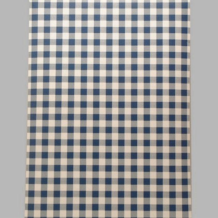 Agrandir Lu0027image Papier Peint Vichy Bleu Et Blanc