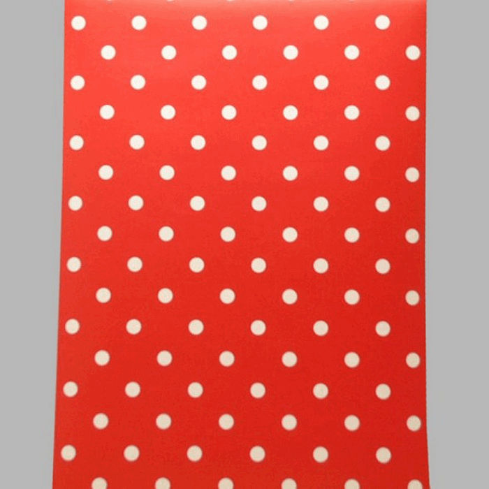 wallpaper dots red and white