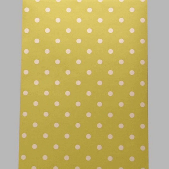 wallpaper dots lemon and white