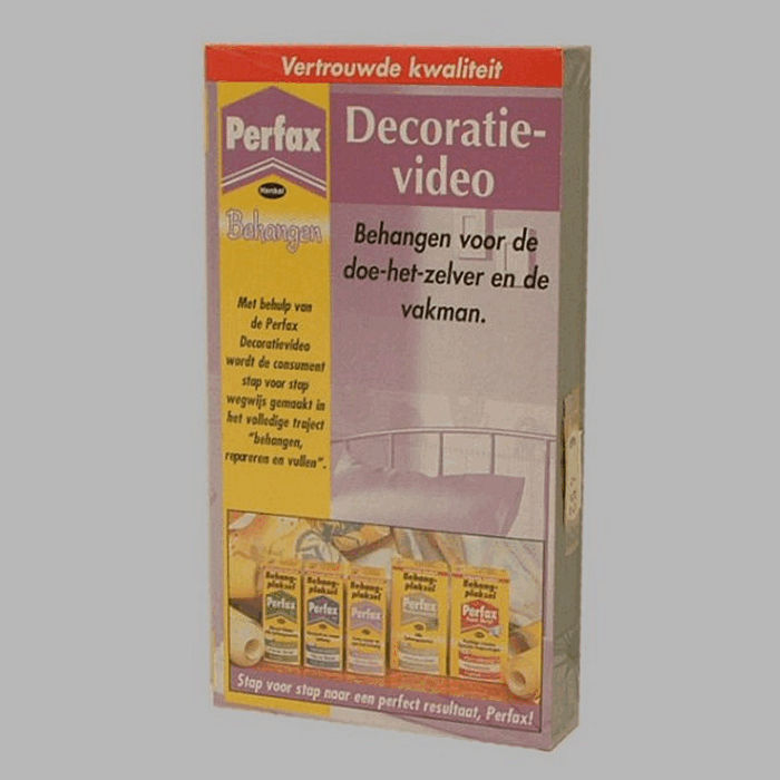 perfax decoratie video behangen