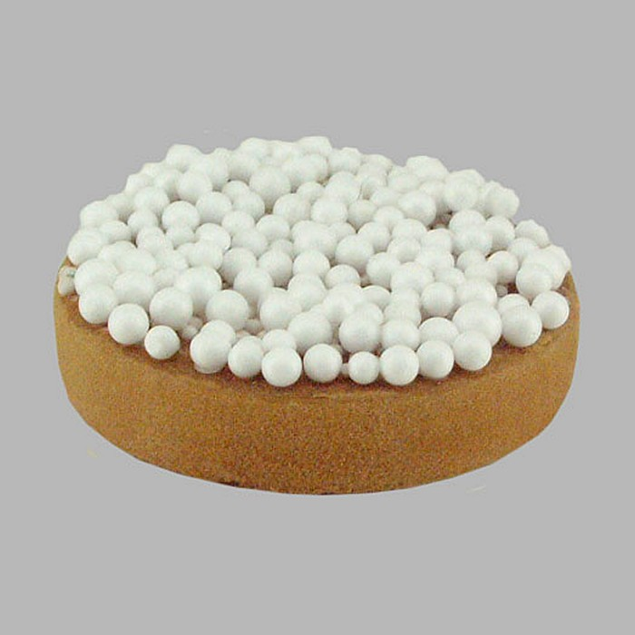rusks with big sprinkles for decoration color white 7 cm