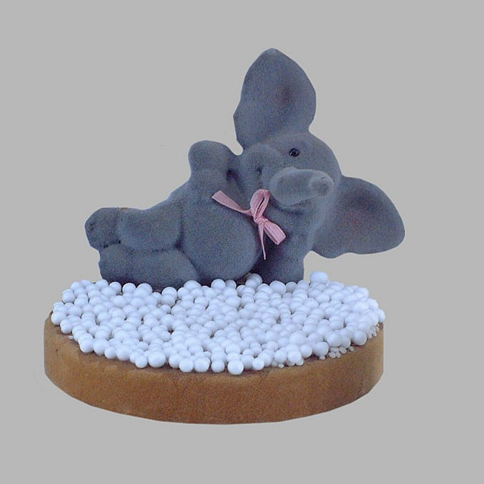 elephant and rusks with big sprinkles 12 cm