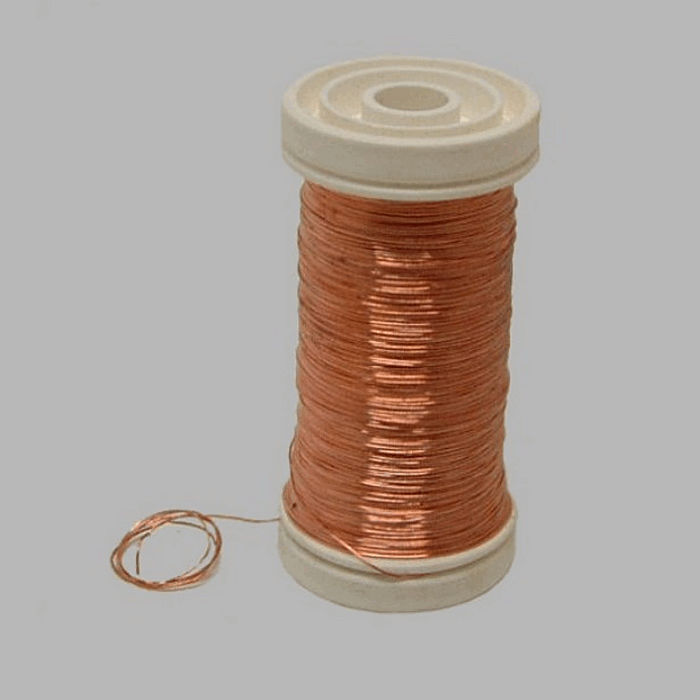 wire for bind or wrap color copper wire 0 4 mm 100 gr