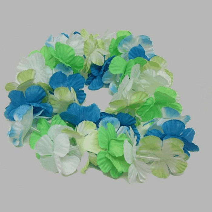 floral necklace for decoration hawai