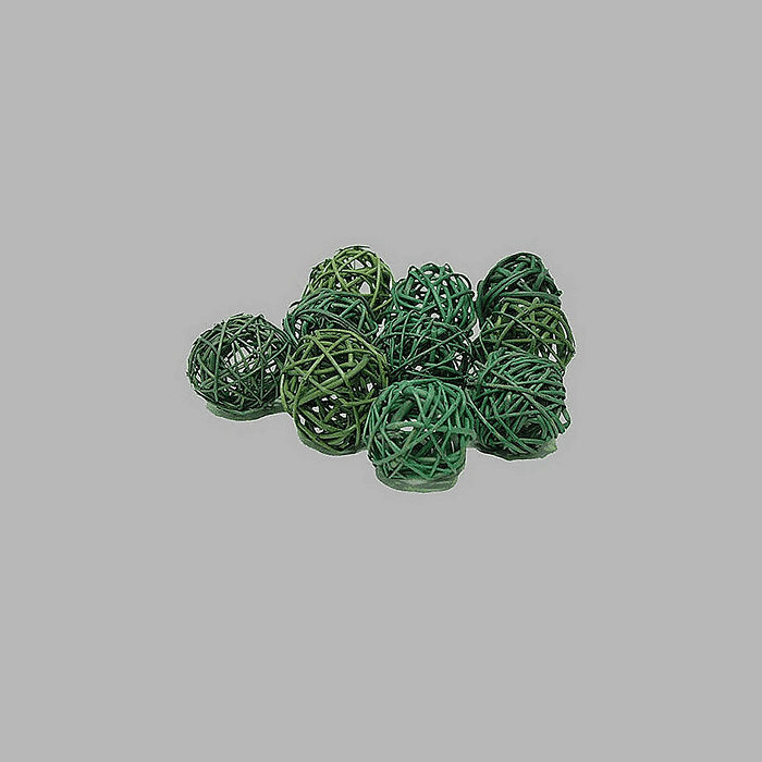 ball for decoration green 4 cm per 10 pieces