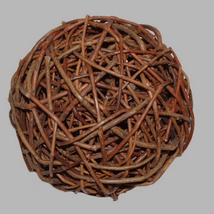 ball of branches 15 cm for decoration