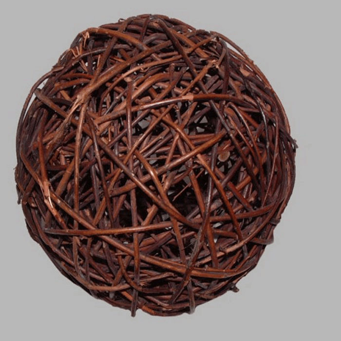 ball of branches 18 cm for decoration