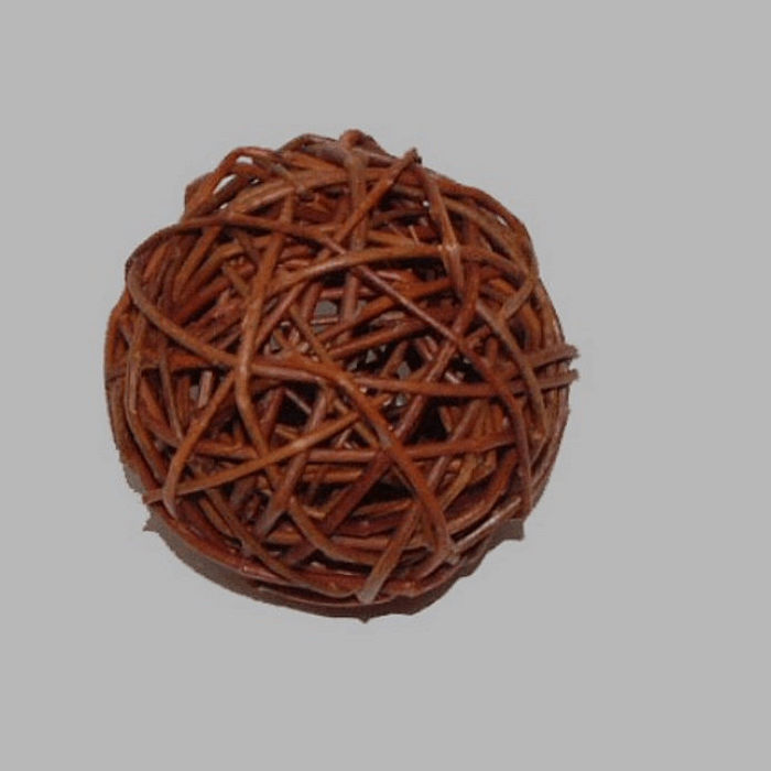 ball of branches 7 cm for decoration
