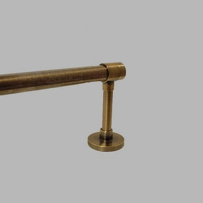Gordijnroede brons
