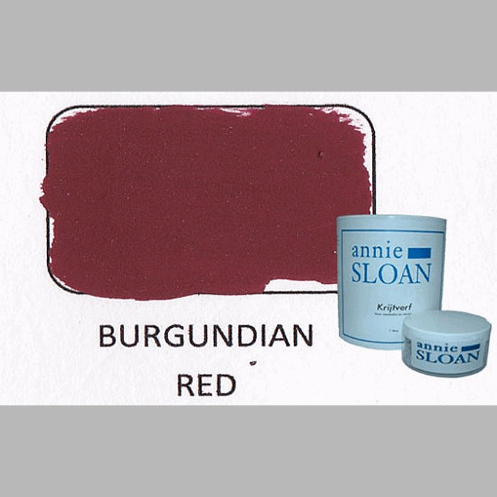 Burgundian red | chalk paint of Annie Sloan
