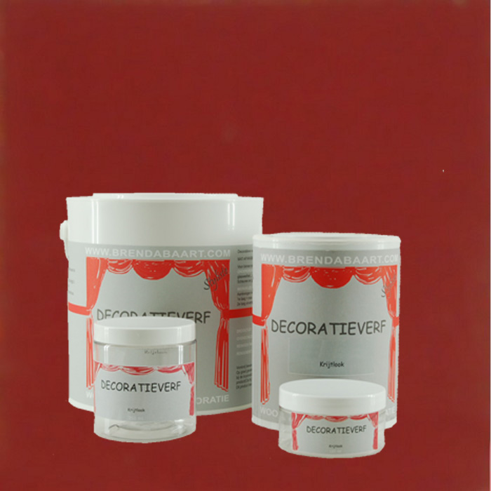 DECORATION PAINT | CARMINE RED