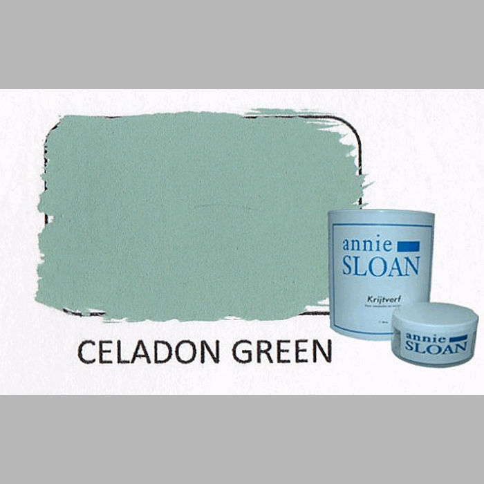 Celadon green | chalk paint of Annie Sloan