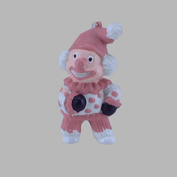 clown color pink 10 x 5 cm