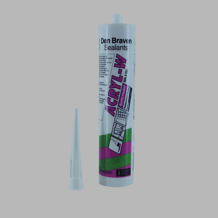 Den Braven Sealants voegmiddel acryl wit 310 ml