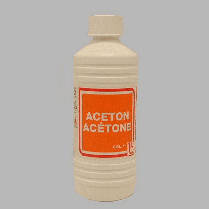 0 5 liter acetone cleaning fluids