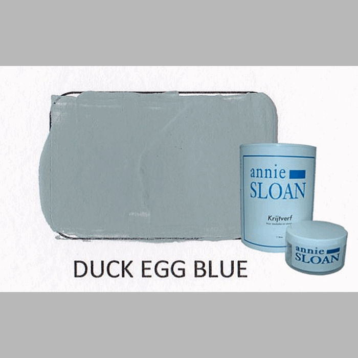 Duck egg blue | chalk paint of Annie Sloan