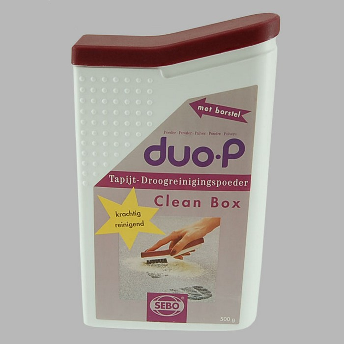 Carpet cleaner duo-P Clean Box