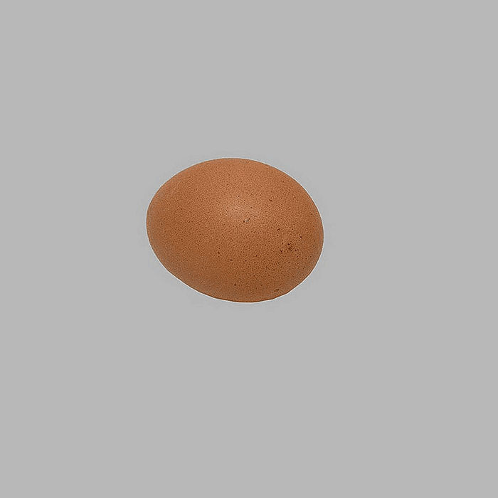 chicken egg for decoration empty 60 mm 12 pieces
