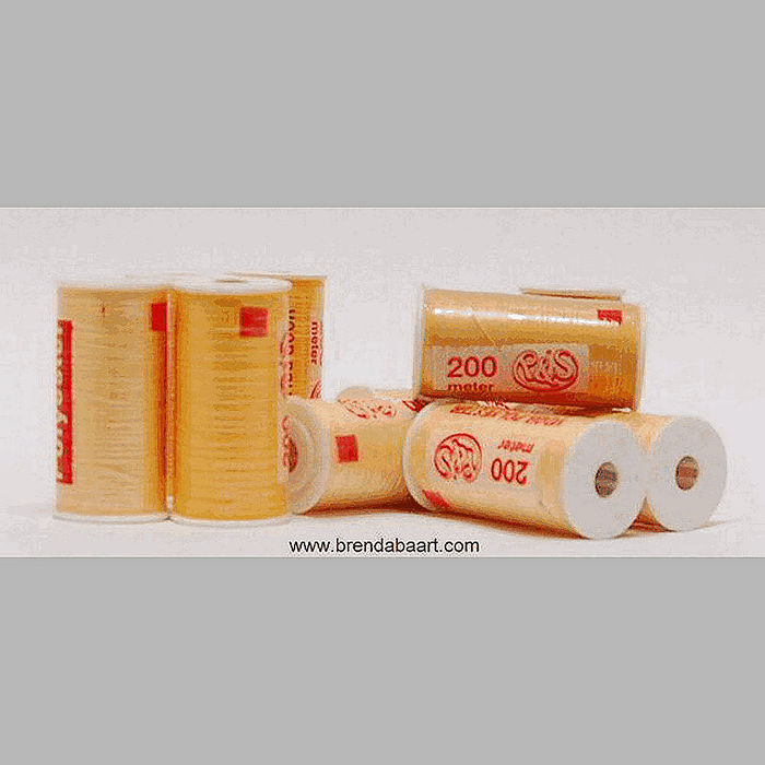 sewing thread R & S yellow hues