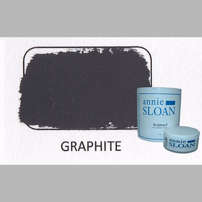 Graphite | chalk paint of Annie Sloan