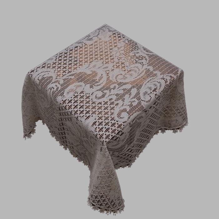nappes rondes en coton coton enduit de de. Black Bedroom Furniture Sets. Home Design Ideas