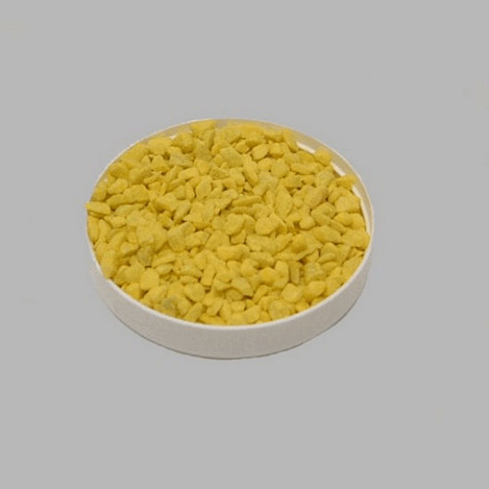 stones small for decoration color yellow 200 gr