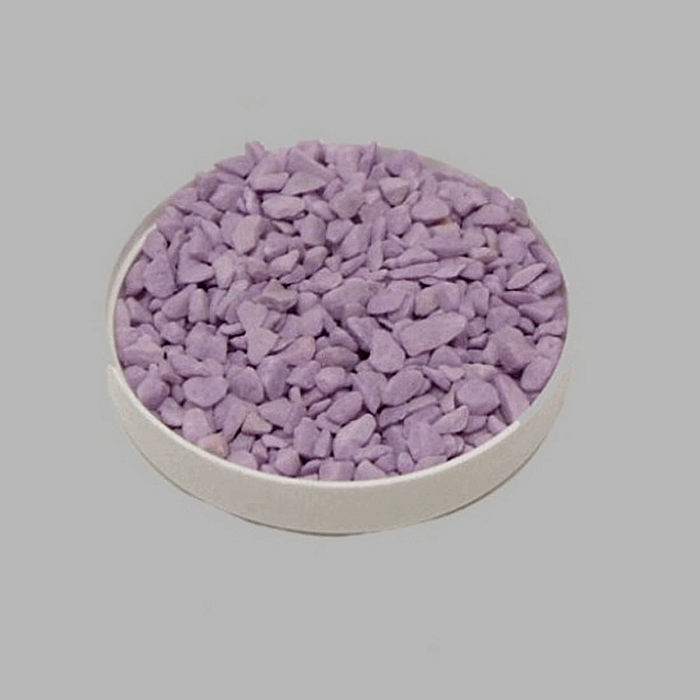 stones small for decoration color purple 200 gr