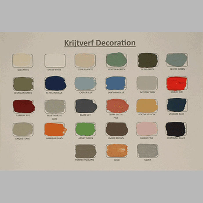 color card Decoration Paint 27 colors
