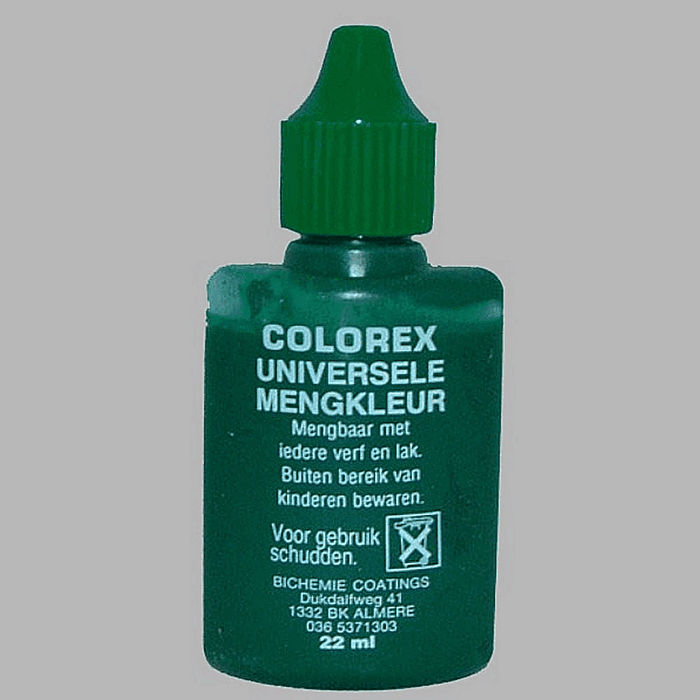 dye liquid-color green 22 ml