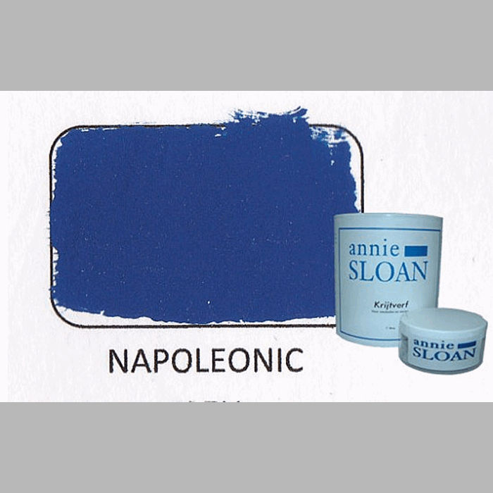 Napoleonic blue | chalk paint of Annie Sloan
