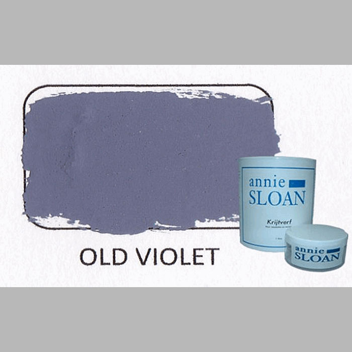Old violet | chalk paint of Annie Sloan