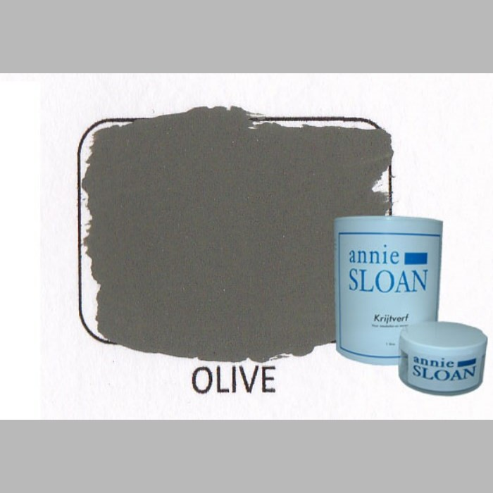 Olive | chalk paint of Annie Sloan