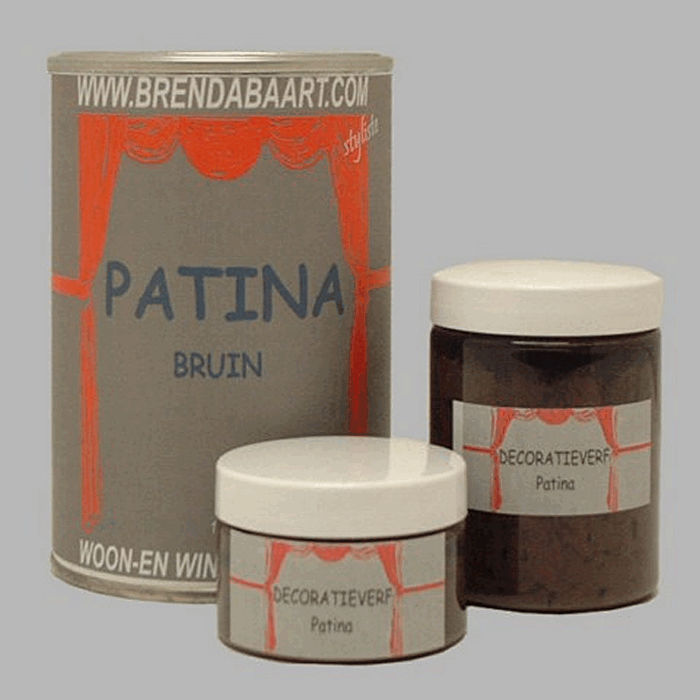 Patina Decoration color brown