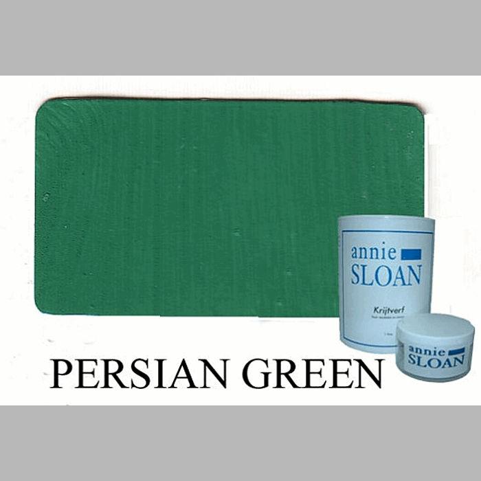 Persian green | chalk paint of Annie Sloan