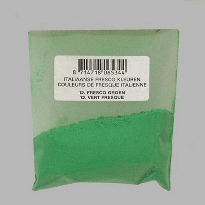 pigment for painters color fresco green