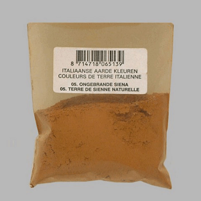 pigment for painters color raw sienna