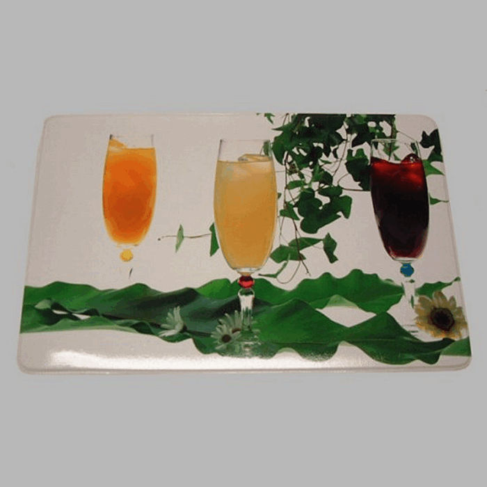 placemat glanzend dessin Party Time 30 x 45 cm