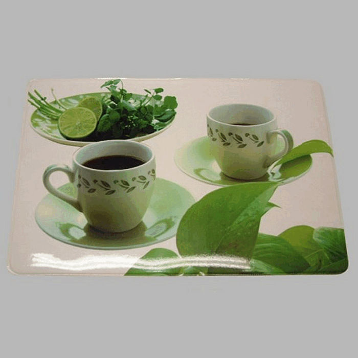 placemat shiny Design Cup of coffee 30 x 45 cm