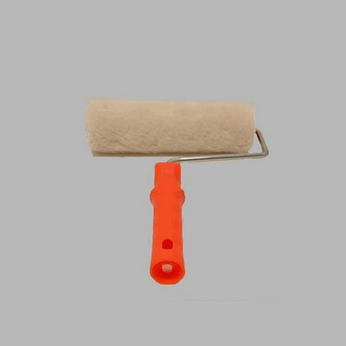 polyester wall paint roller width 23 cm complete with bracket