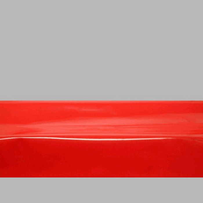Gloss Film oilcloth color uni red width 140 cm