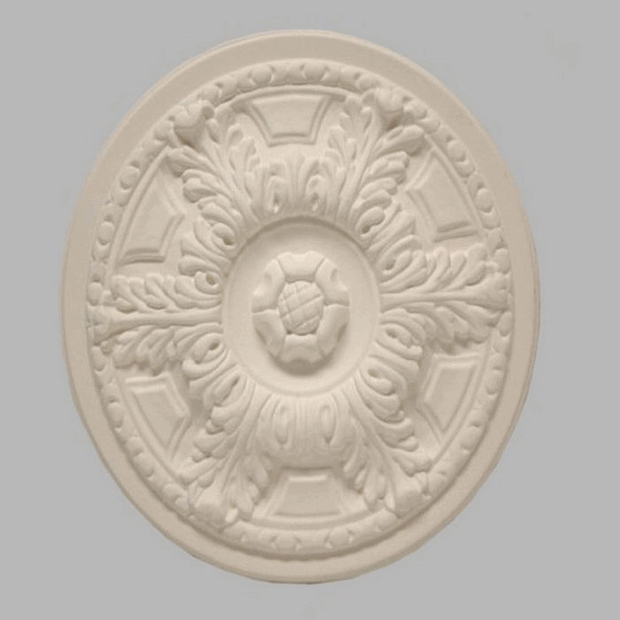 rosette for ceiling color white 32 cm