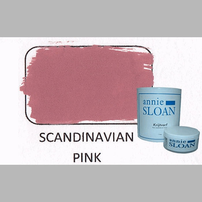 Scandinavian pink | chalk paint of Annie Sloan
